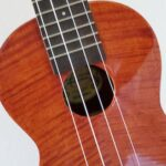 My ukulele that I keep near the couch.